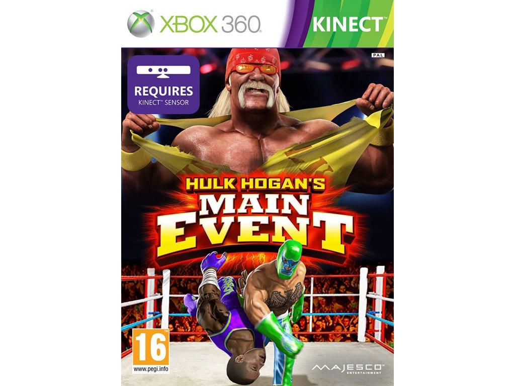xbox 360 hulk hogan's main event
