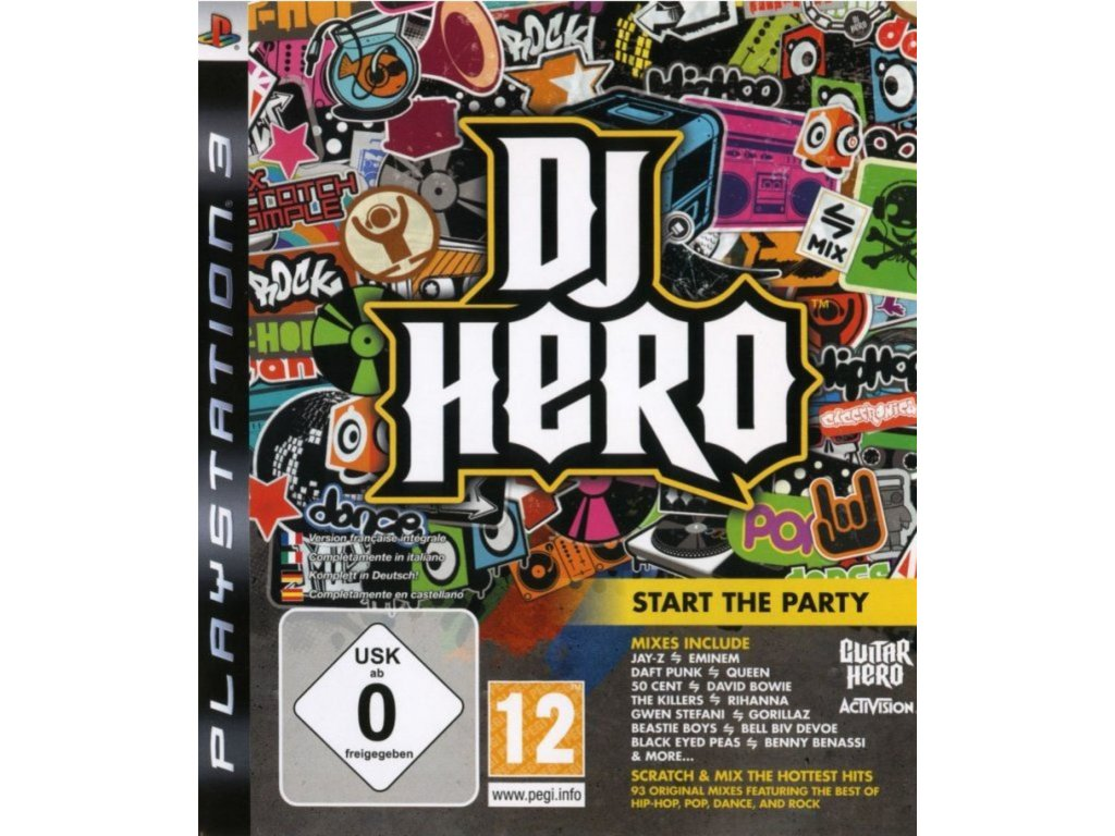 PS3 DJ Hero
