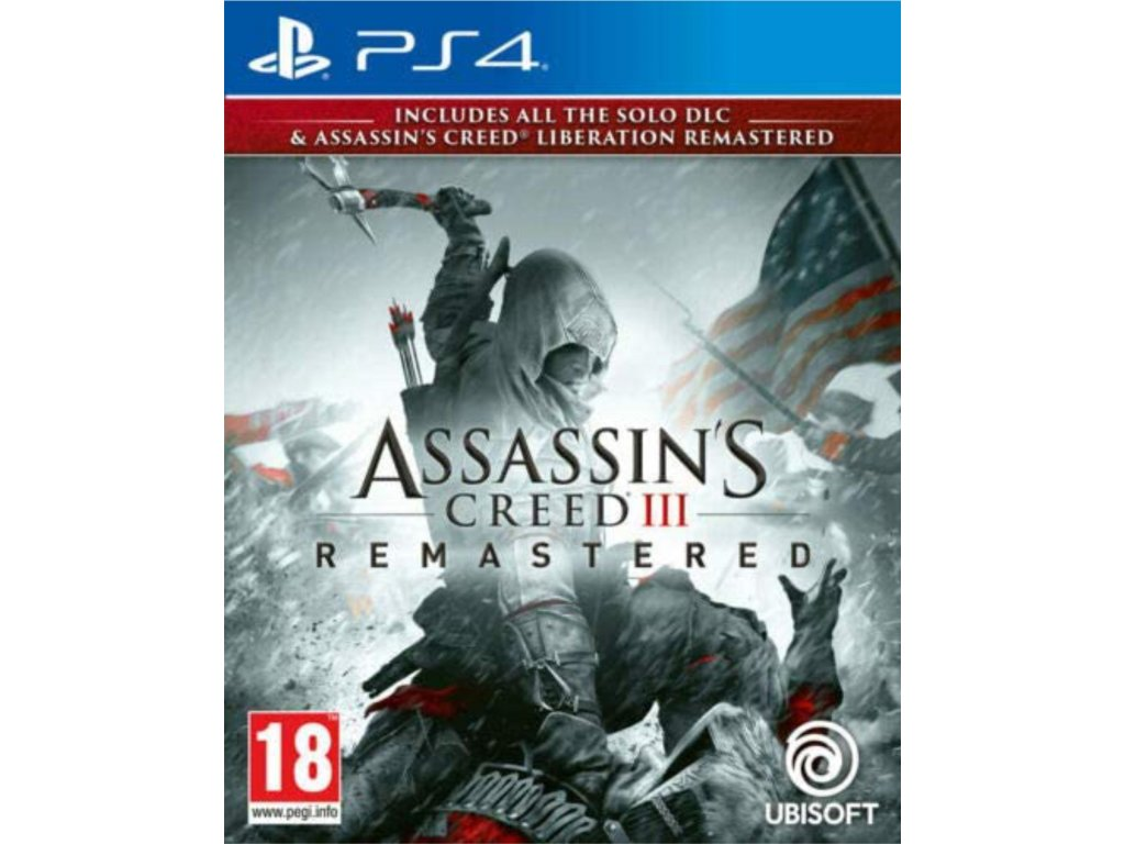 PS4 Assassin's Creed 3 and Assassin's Creed Liberation