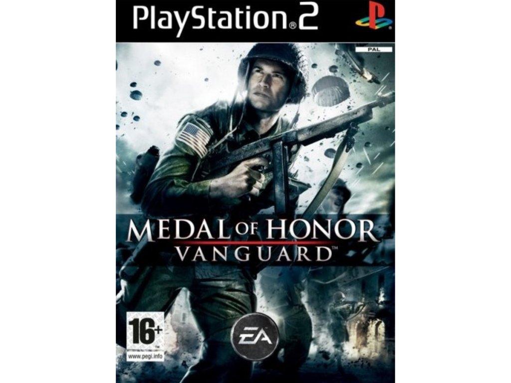 PS2 medal of honor vanguard CZ