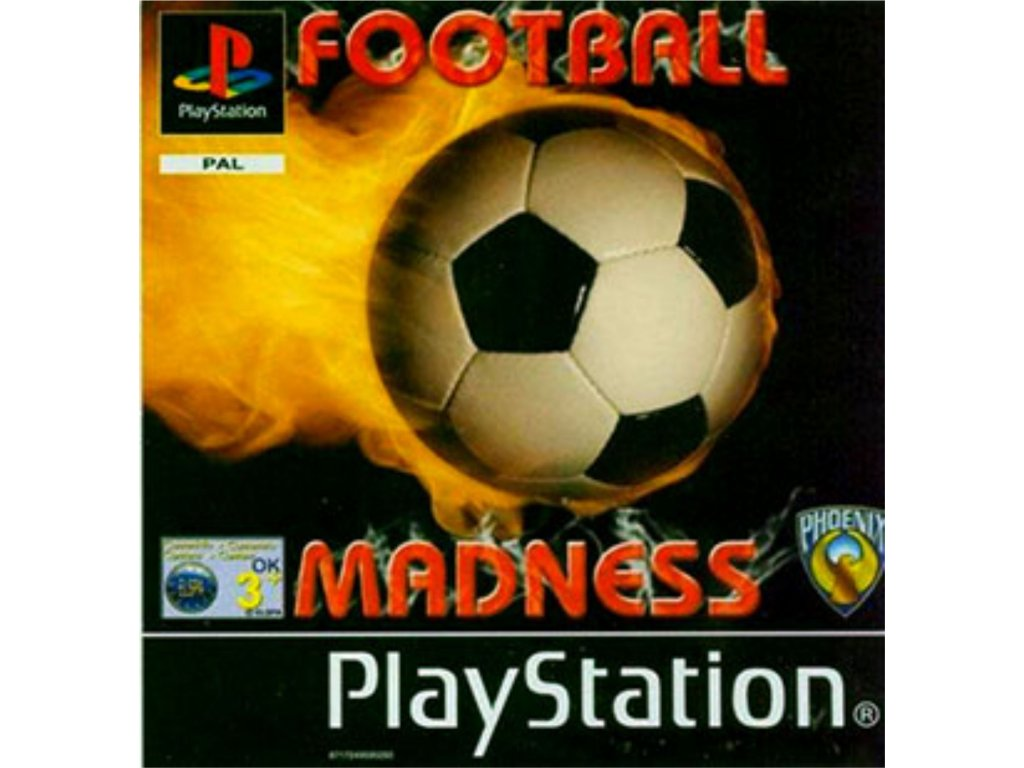 PS1 football madness