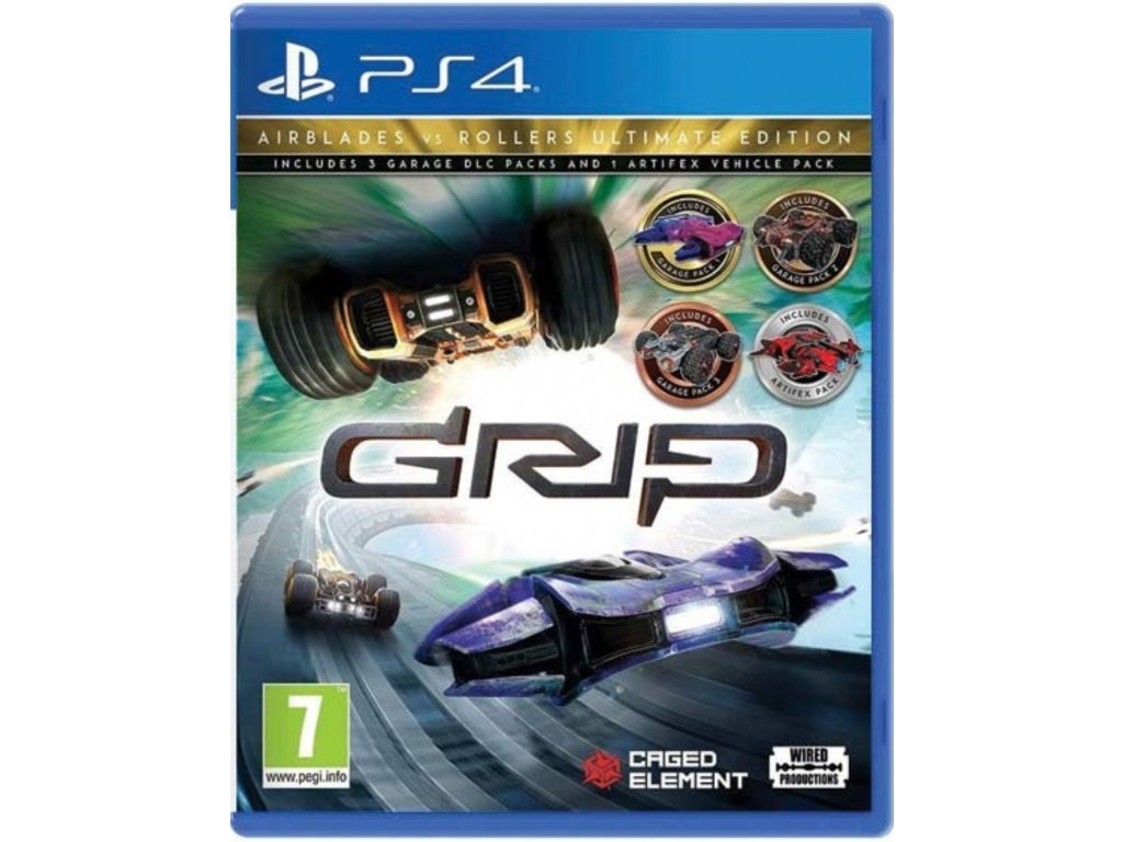 GRIP Combat Racing Rollers Vs Airblades Ultimate Edition (PS4)