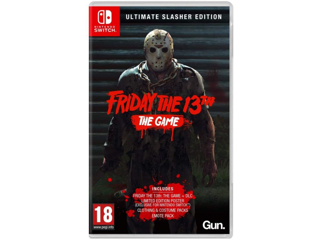 SWITCH Friday the 13th The Game Ultimate Slasher Edition