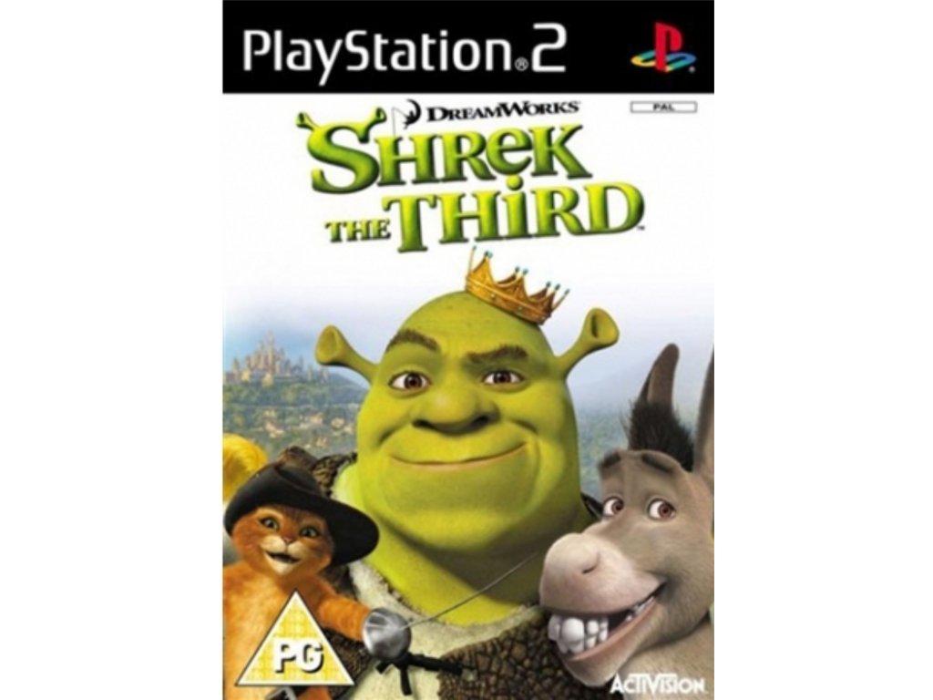 PS2 Shrek the Third