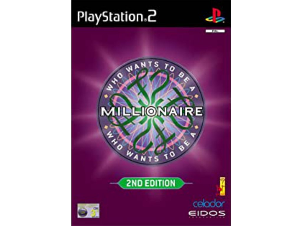 ps2 millionaire 2nd edition