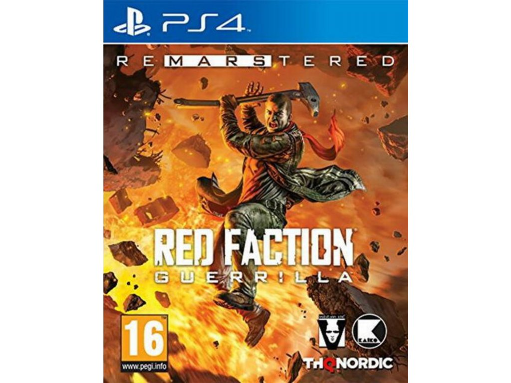 Red Faction Guerrilla Re Mars tered ps4