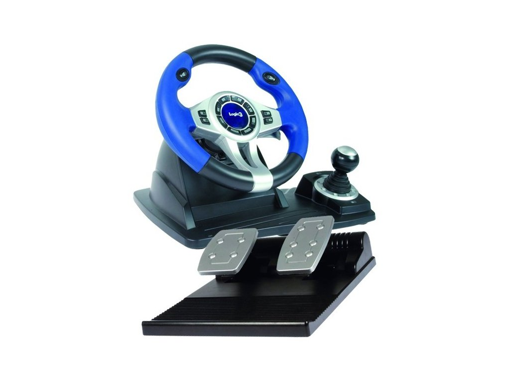 topdrive rf wheel ps2 ps3 pc wireless logic3
