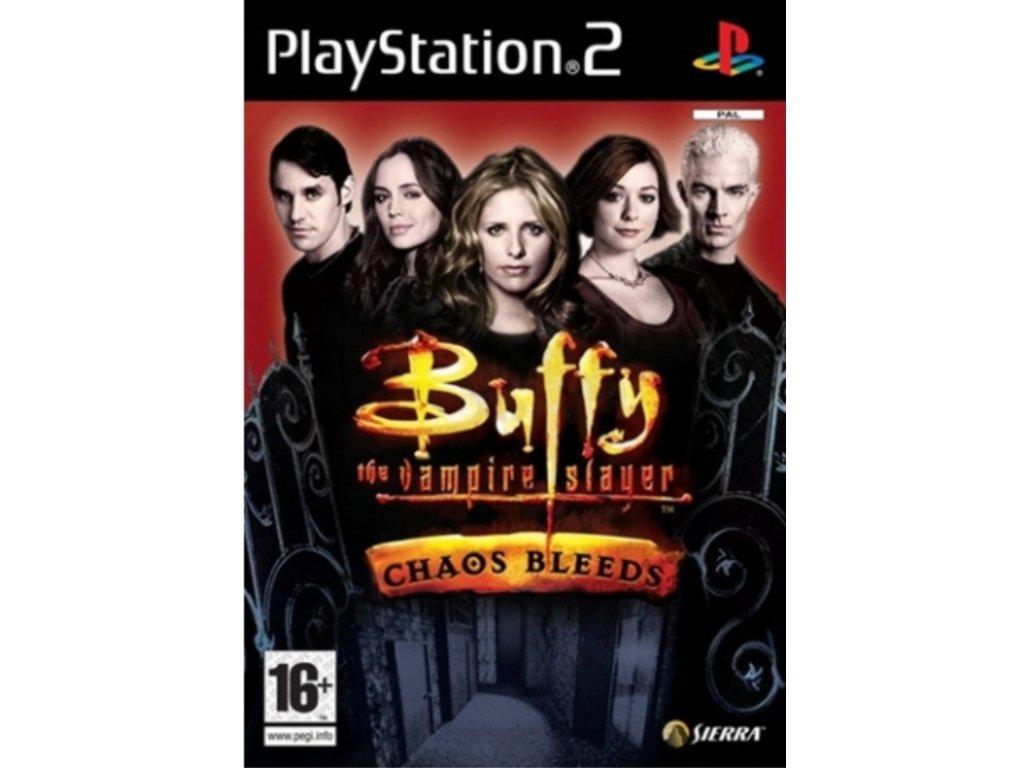 PS2 Buffy the Vampire Slayer Chaos Bleeds