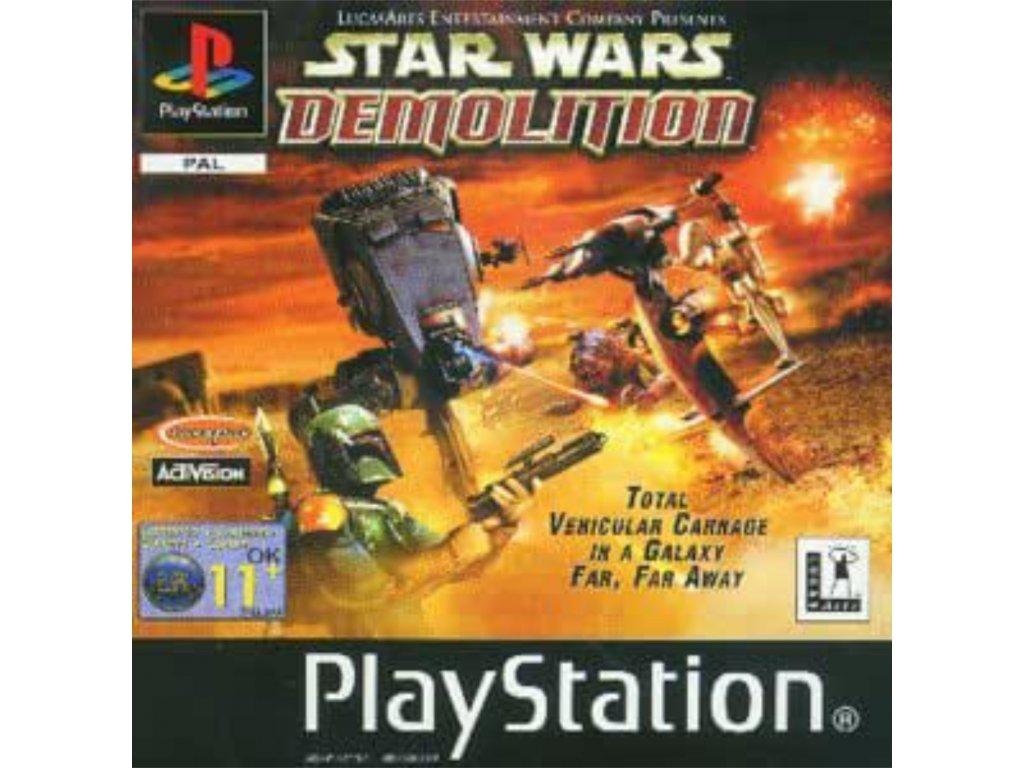 ps1 star wars demolition