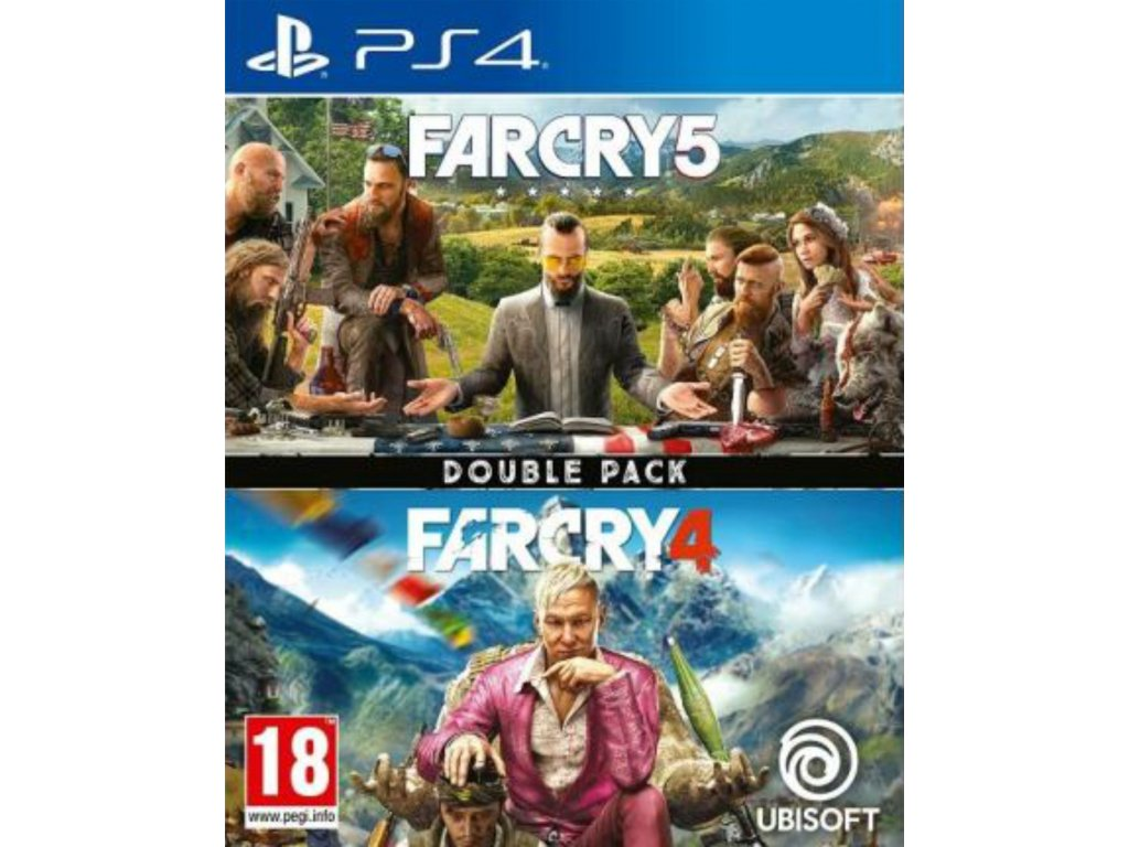 PS4 Far Cry 4 & Far Cry 5 Double Pack CZ