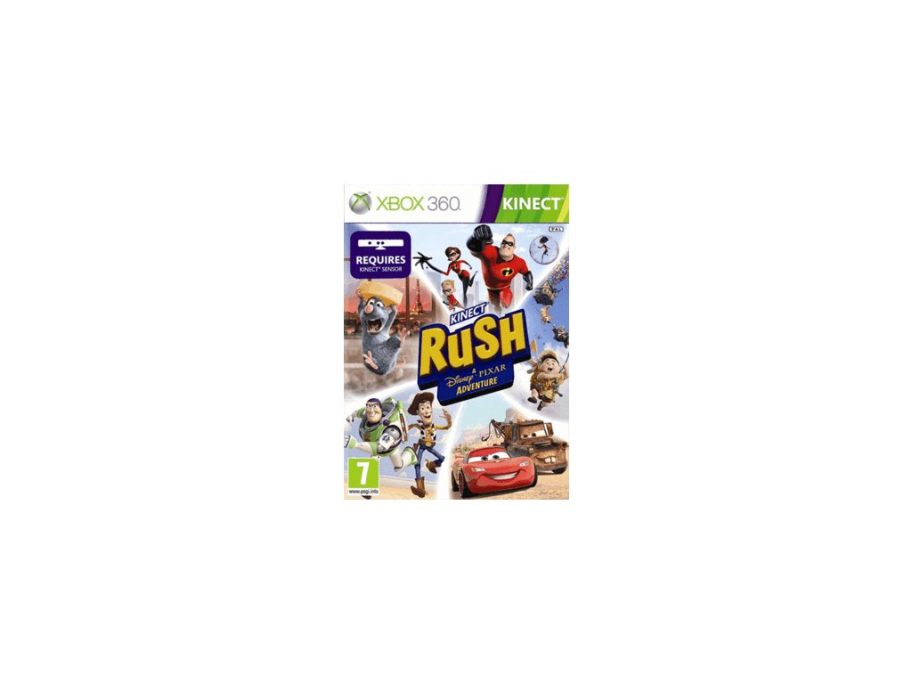 XBOX 360 Kinect Rush: A Disney Pixar Adventure