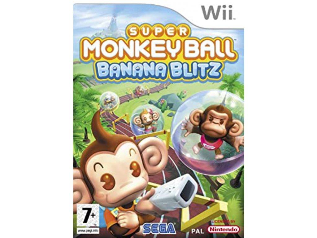 wii super monkey ball banana blitz