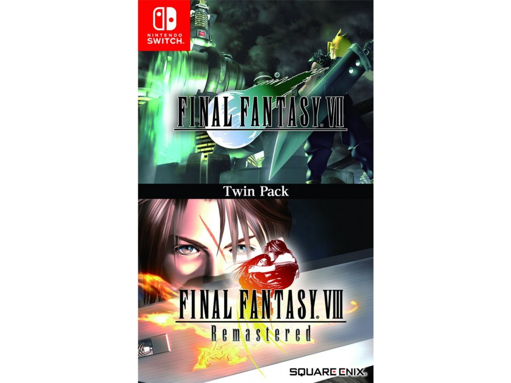 Final Fantasy 7 & Final Fantasy 8 Remastered Twin Pack switch