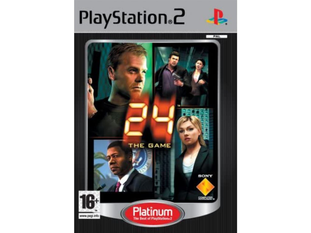PS2 24 the Game PLATINUM