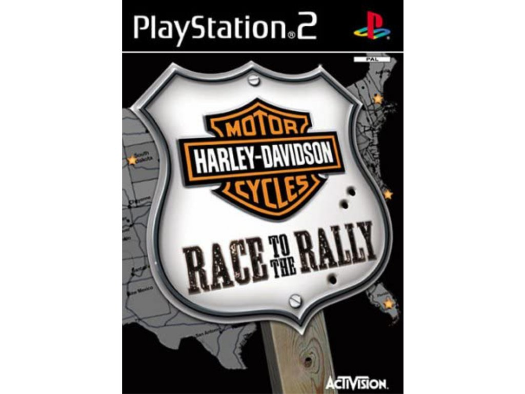 ps2 harley davidson race to the rally