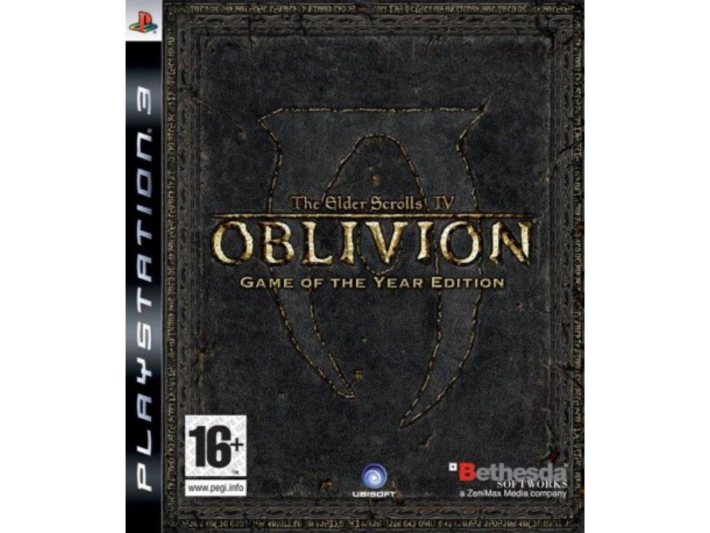 PS3 The Elder Scrolls IV Oblivion GOTY