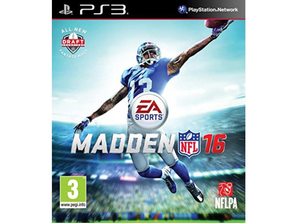 PS3 Madden NFL 16