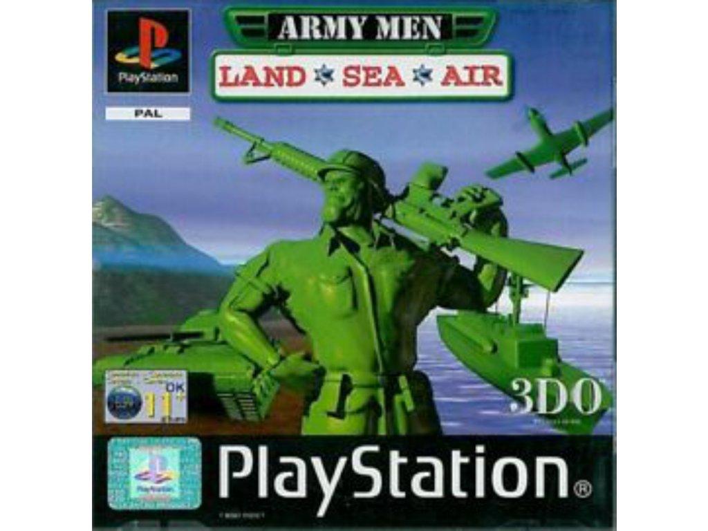 ps1 army men land sea air