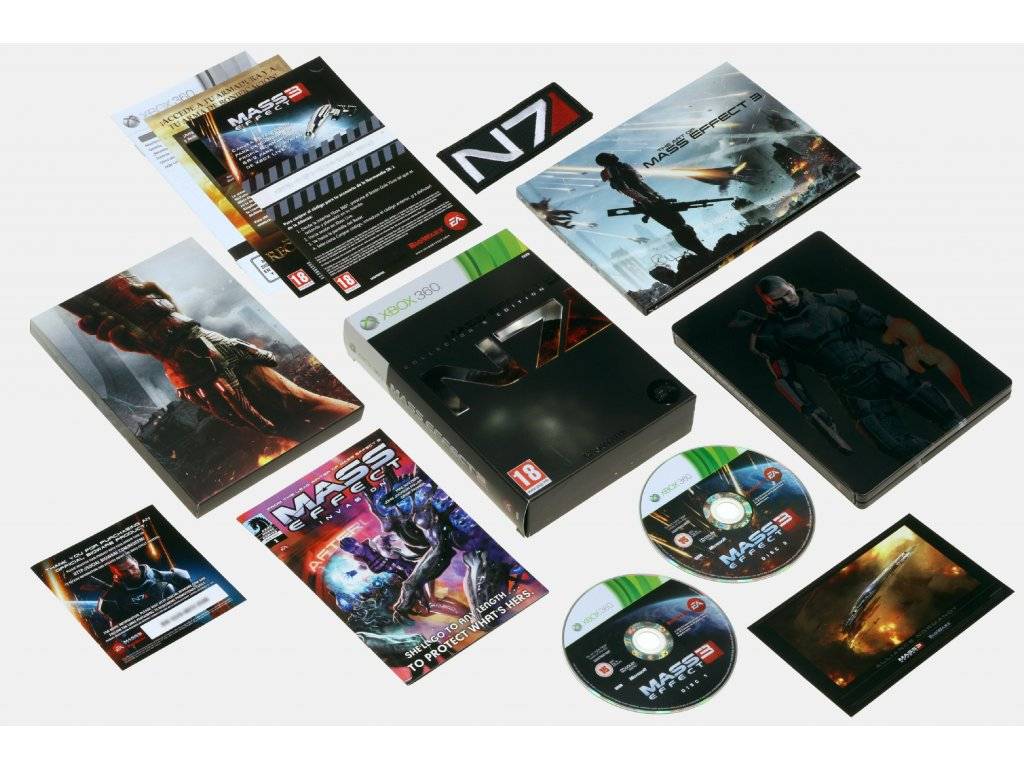 XBOX 360 Mass Effect 3 Collector's Edition
