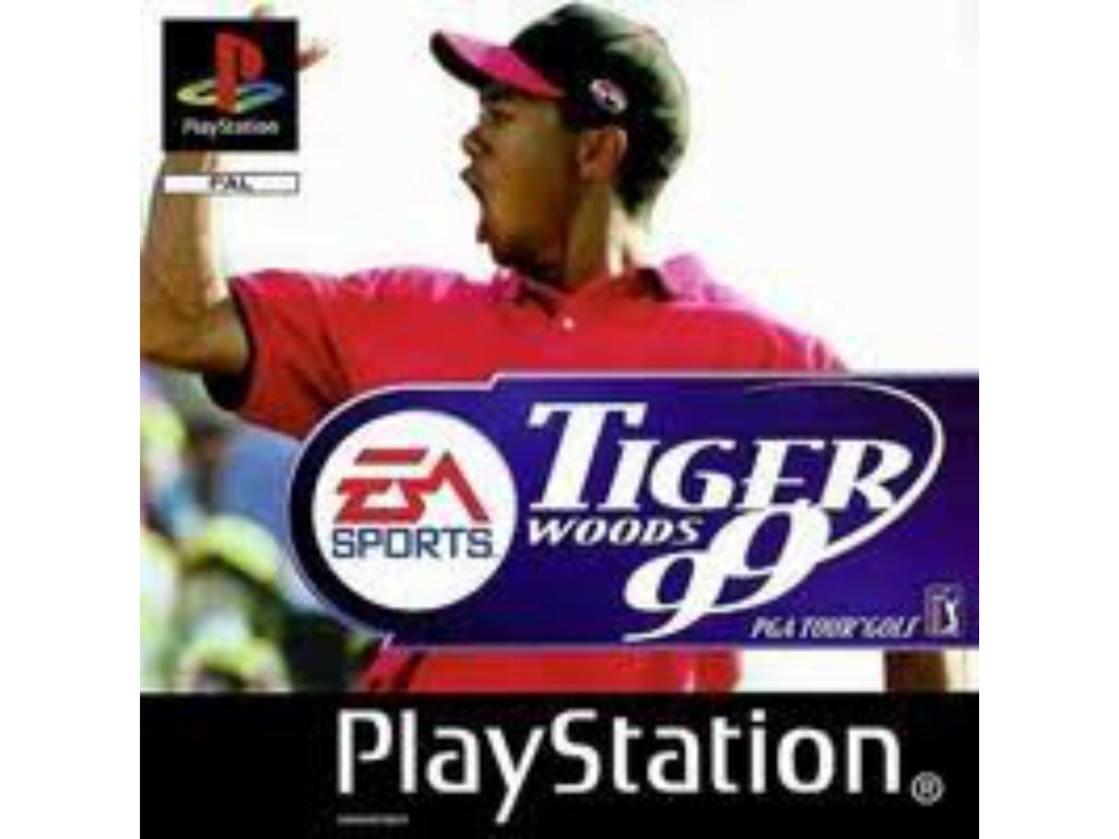 PS1 Tiger Woods 99 PGA Tour Golf