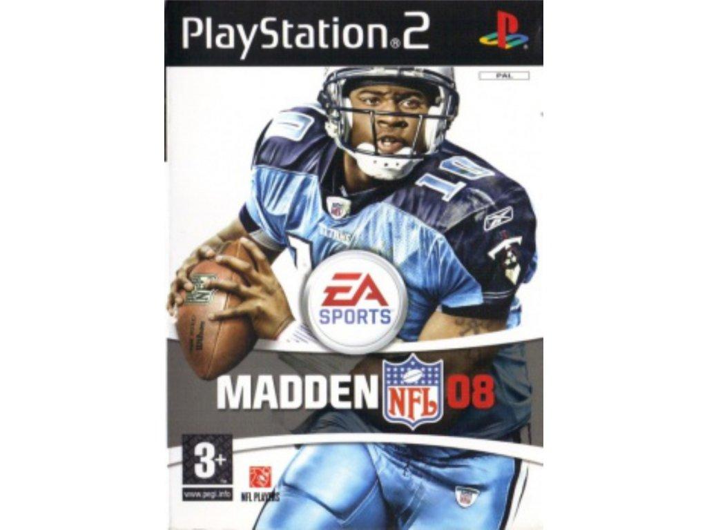 PS2 Madden NFL 08