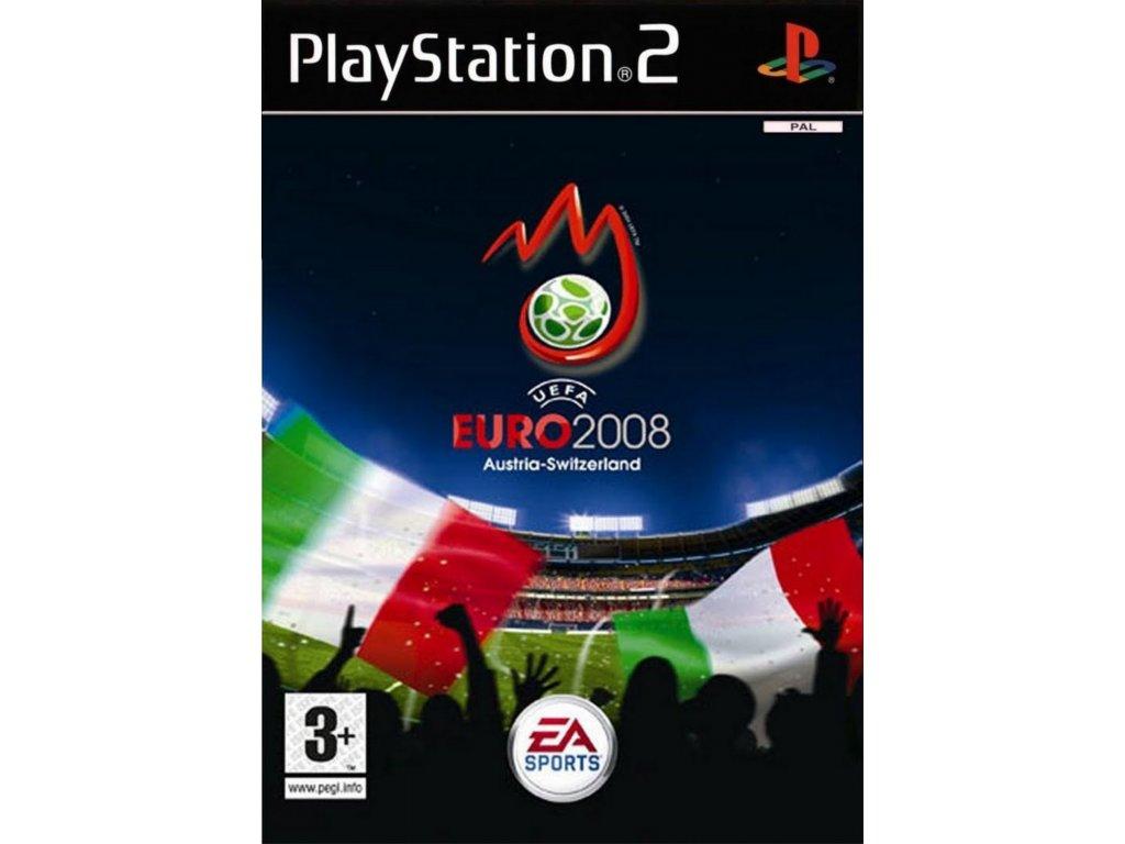 PS2 uefa euro 2008