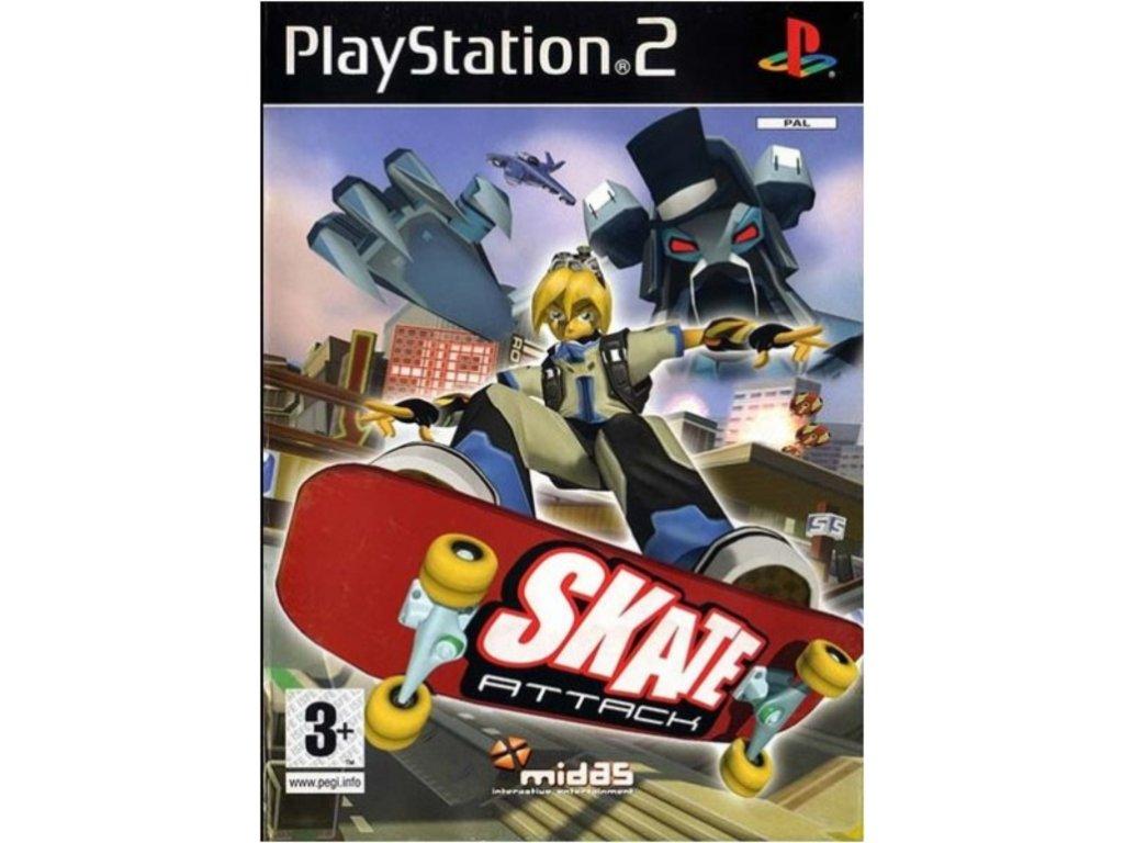 PS2 skate attack