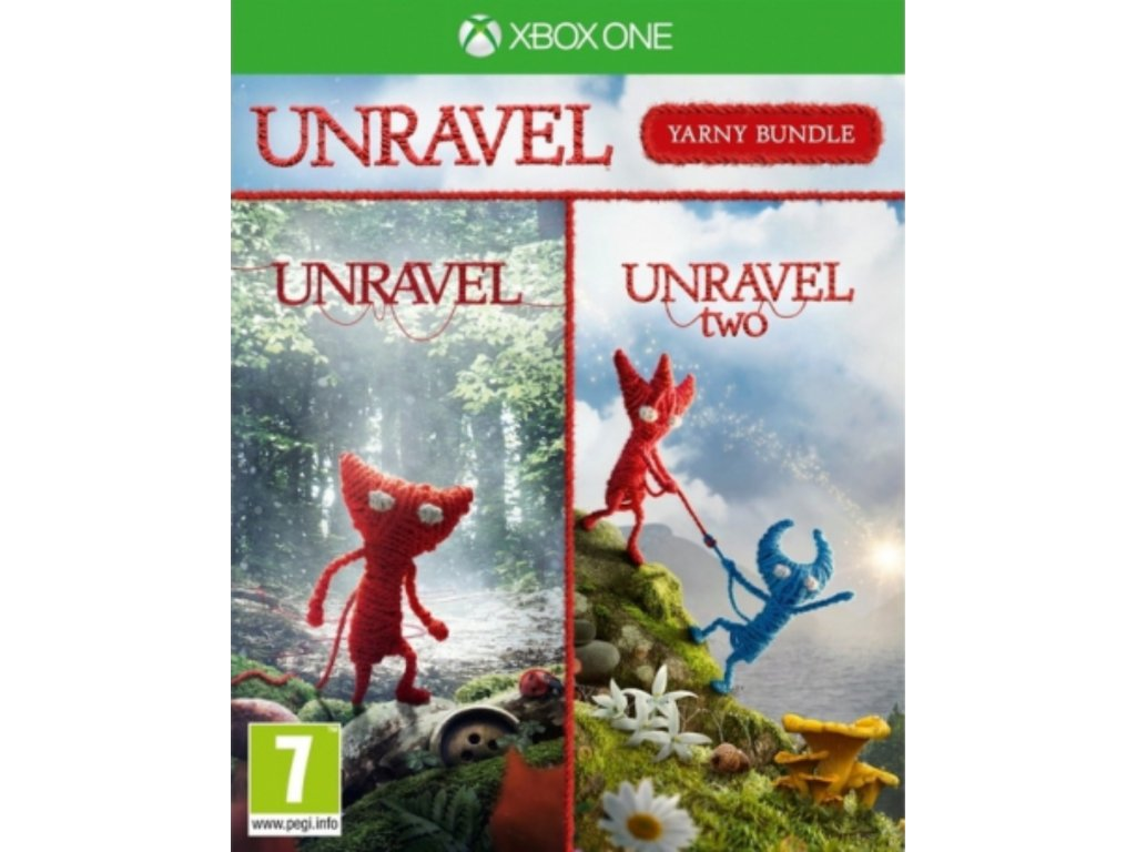 XBOX ONE Unravel Yarny Bundle