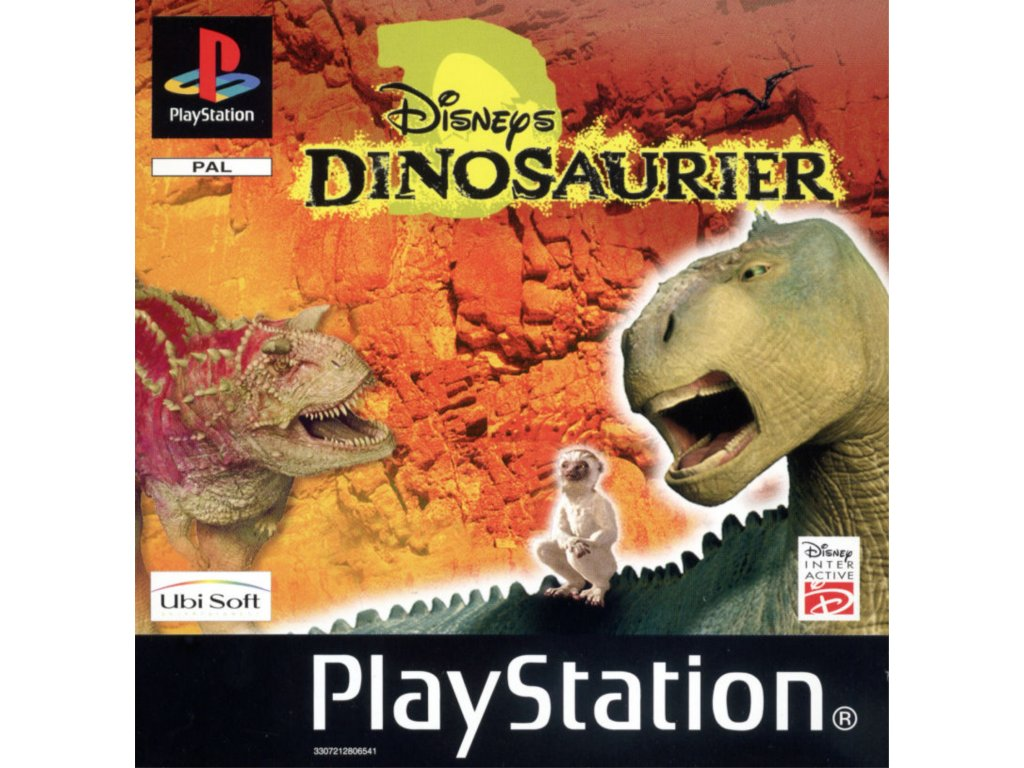 PS1 Disney's Dinosaur