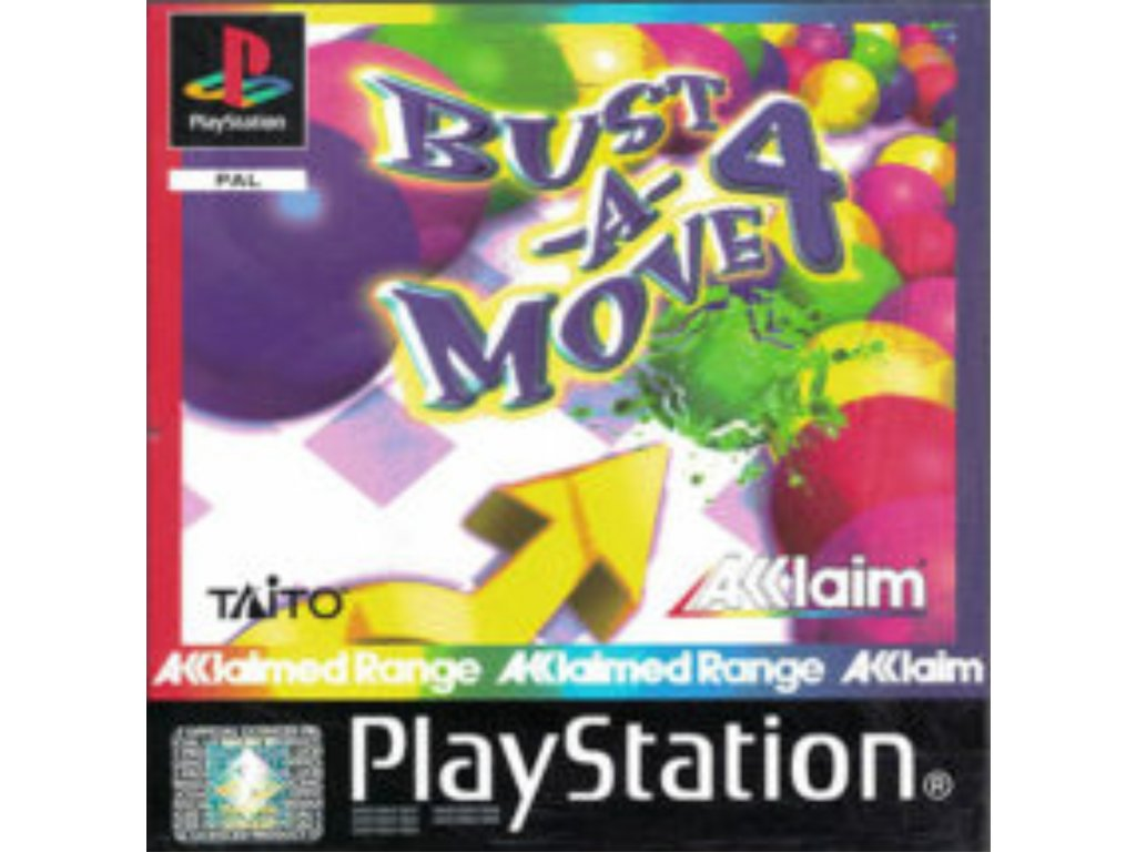 PS1 bust and move 4