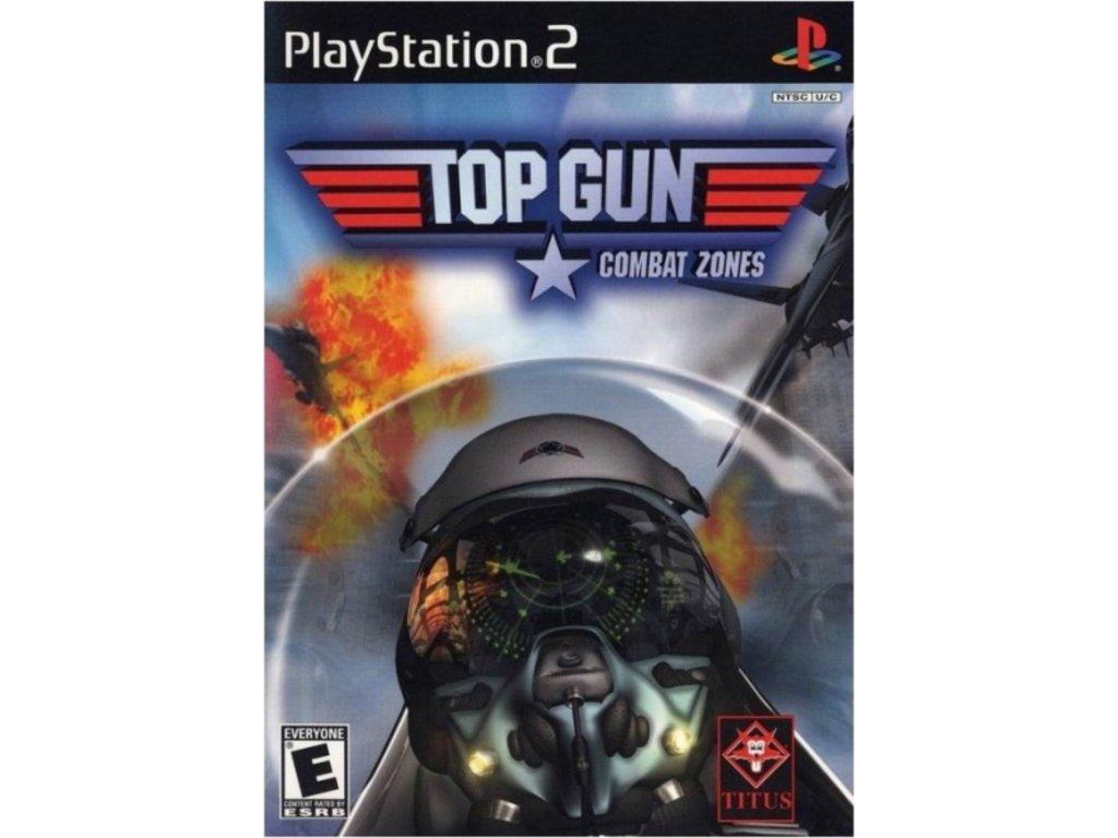 PS2 Top Gun Combat Zones