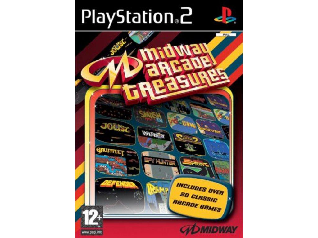 PS2 Midway Arcade Treasures