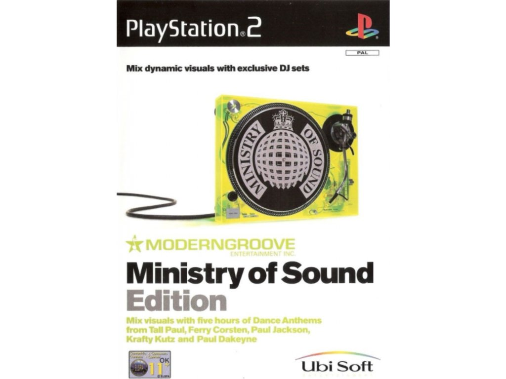 PS2 ministry of sound edition