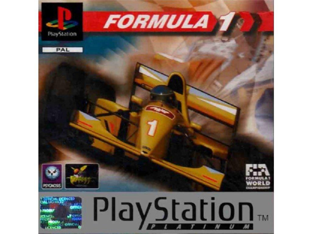 PS1 Formula 1 PLATINUM