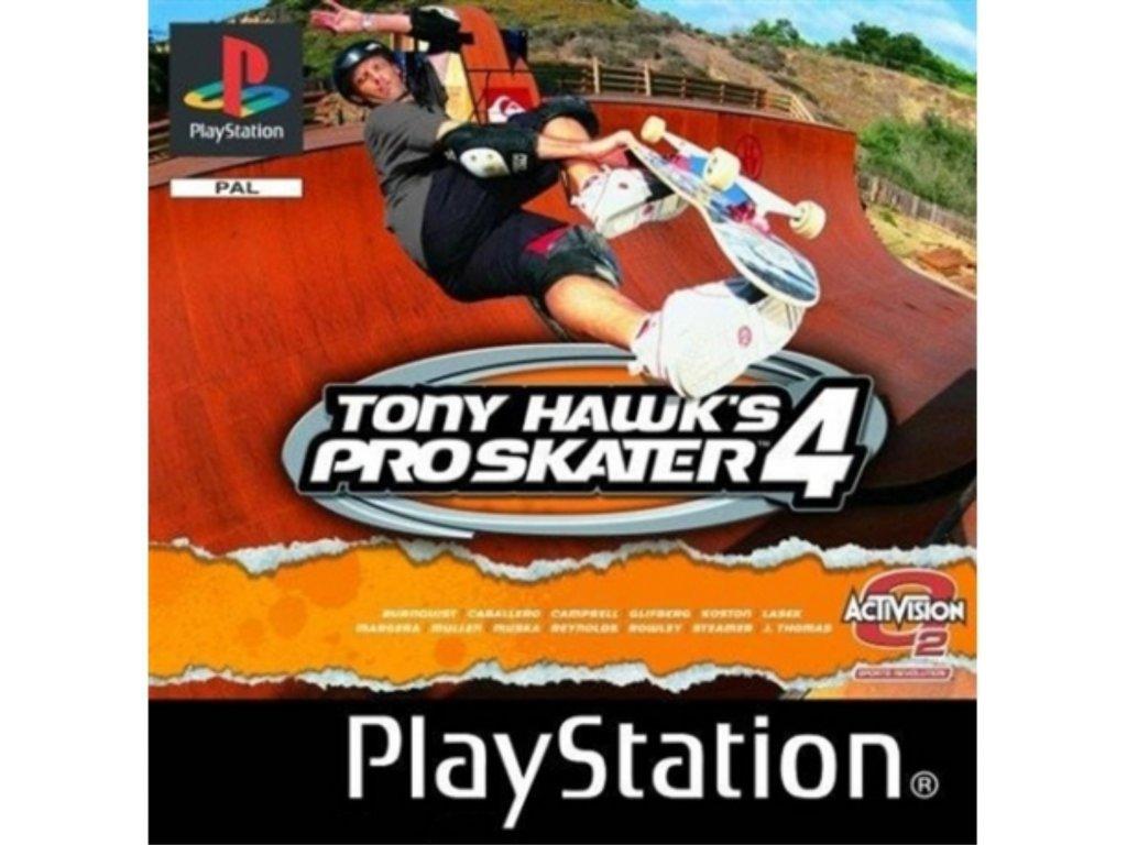 PS1 Tony Hawk´s Pro Skater 4