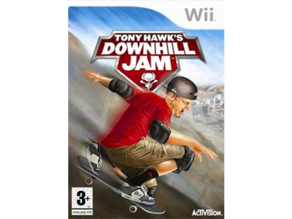 Wii tony hawks downhill jam