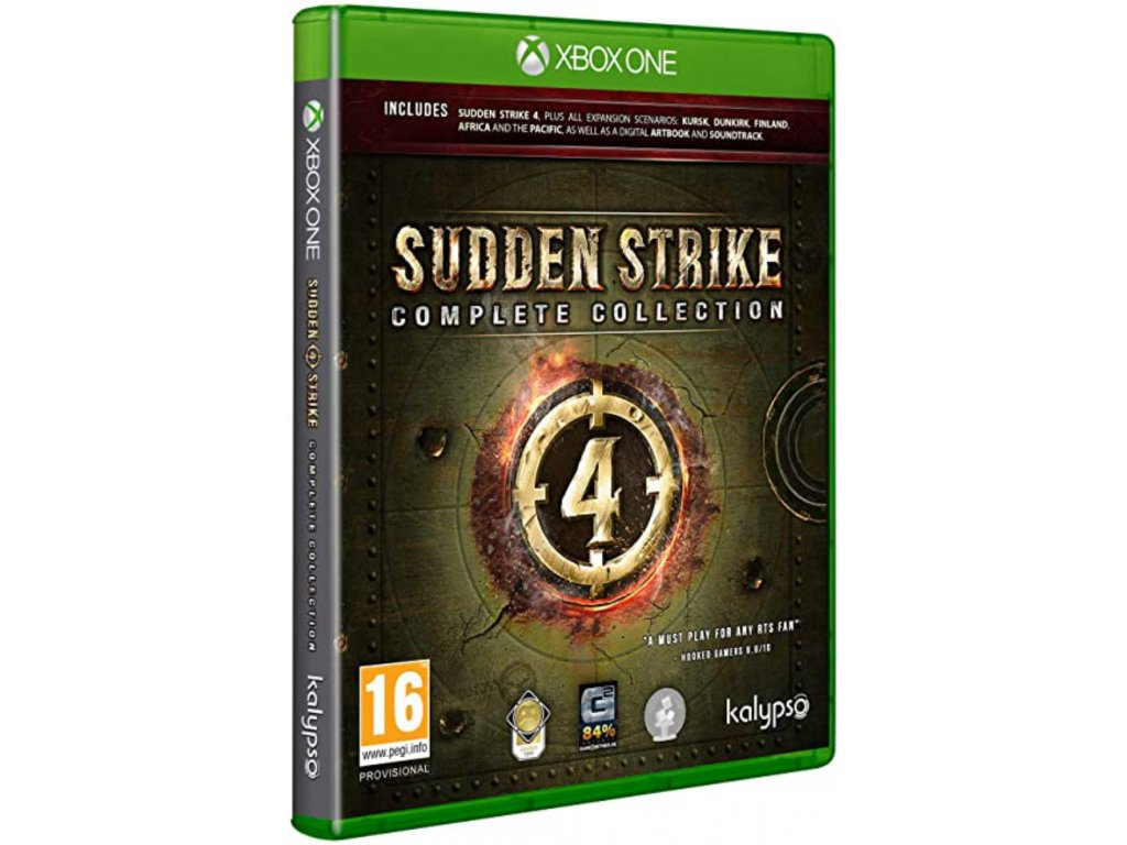 XBOX ONE Sudden Strike 4 Complete Collection