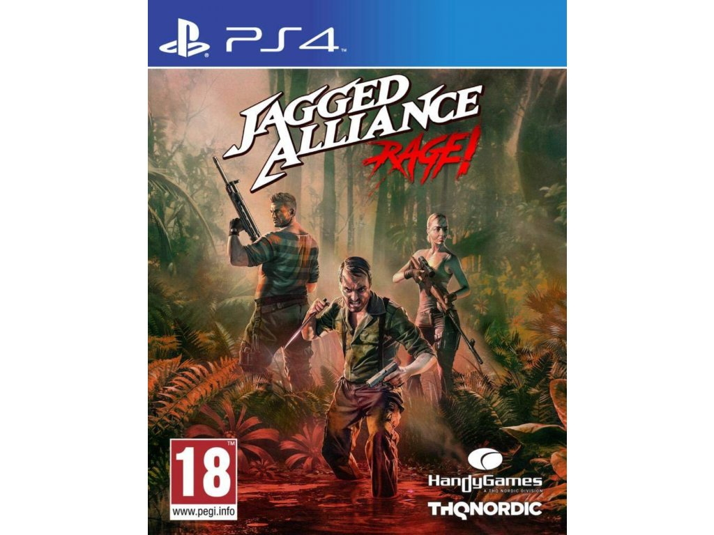PS4 Jagged Alliance Rage!