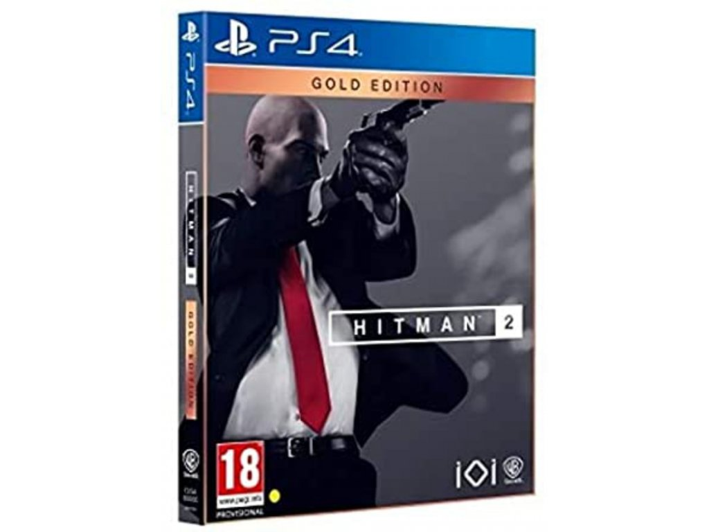 Hitman 2 Gold Edition (Steelbook) PS4
