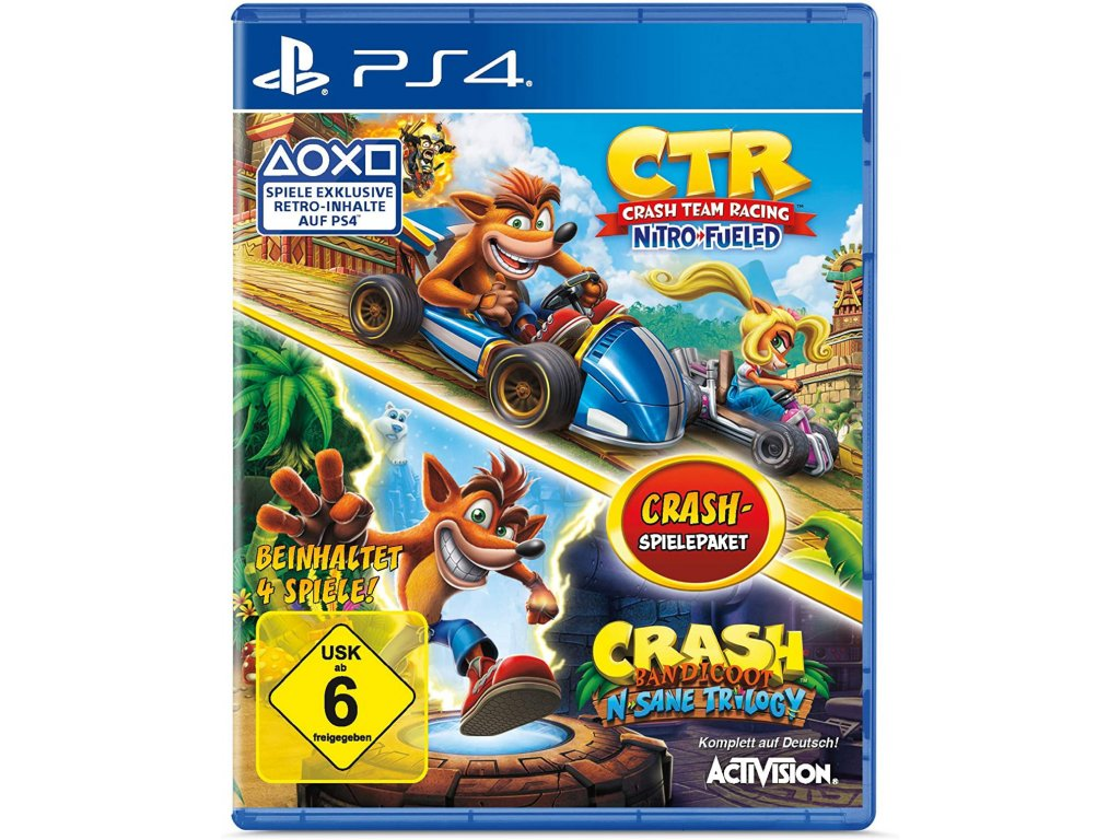 Crash Team Racing Nitro Fueled & Crash Bandicoot N. Sane