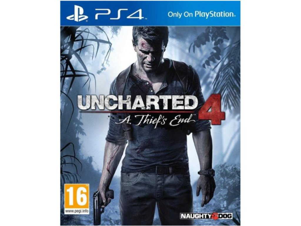 PS4 Uncharted 4 A Thiefs End CZ