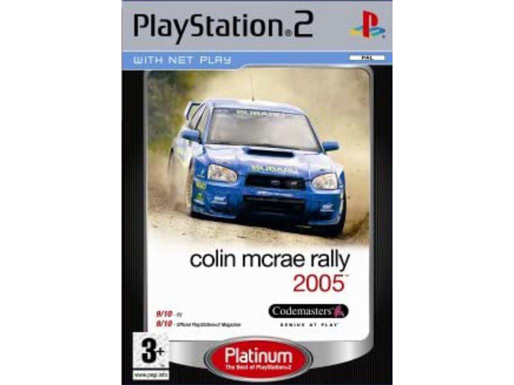 PS2 Colin McRae Rally 2005 PLATINUM