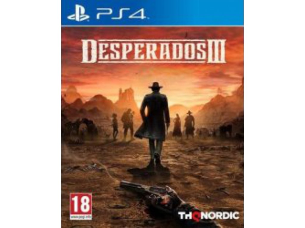 Desperados III (3) ps4