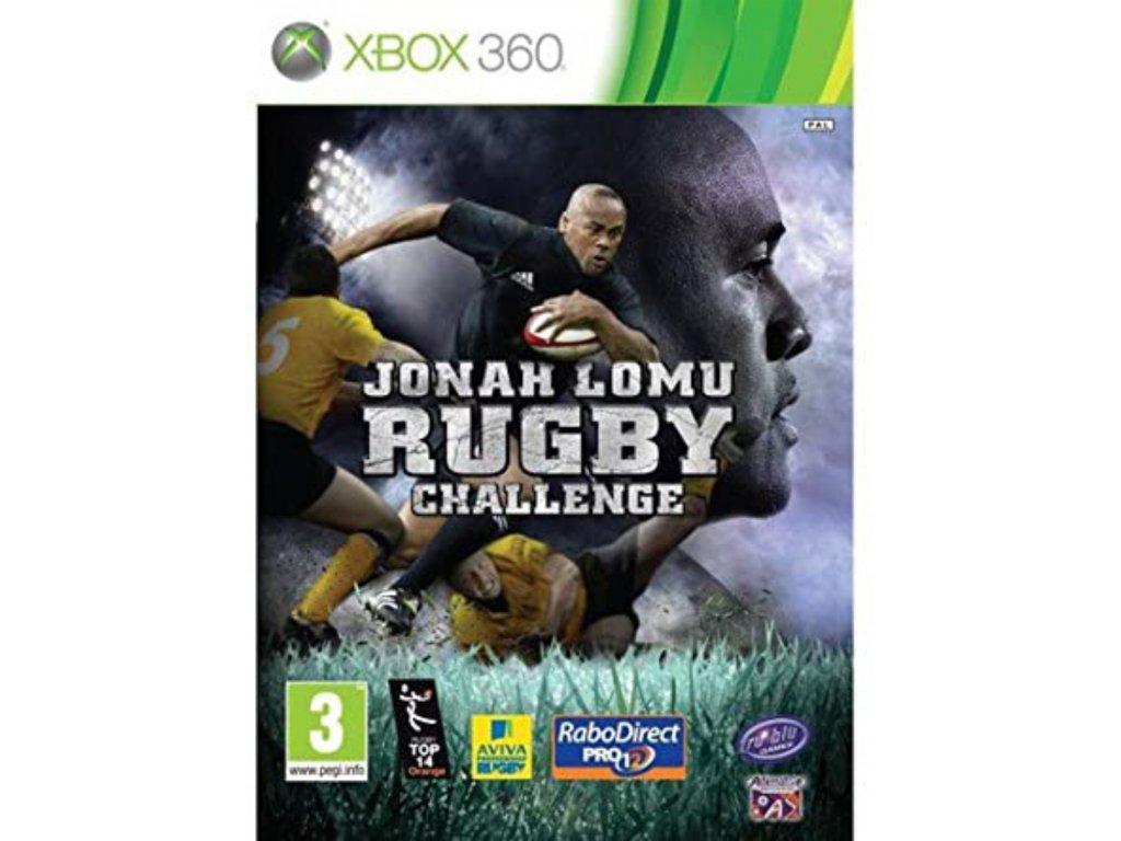 XBOX 360 jonah lomu rugby