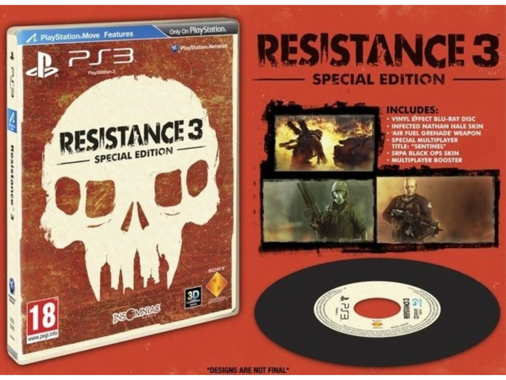 PS3 Resistance 3 Special Edition