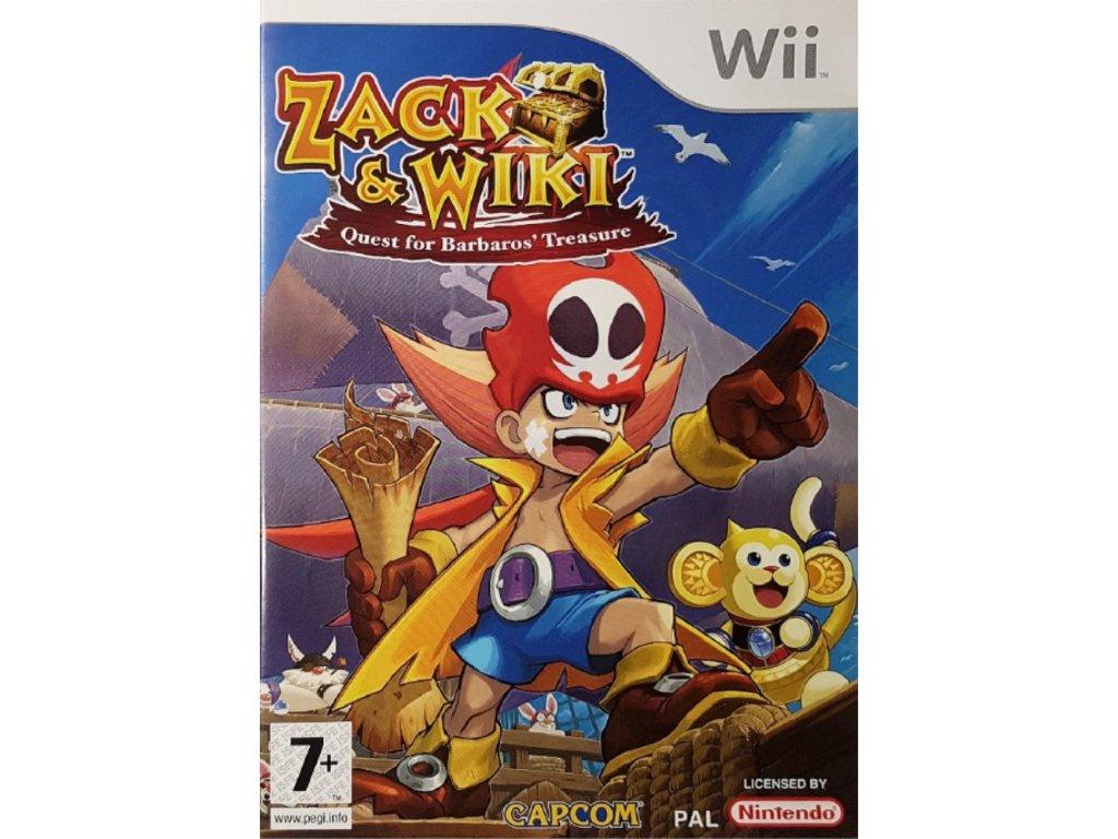 Wii Zack & Wiki Quest for Barbaros' Treasure