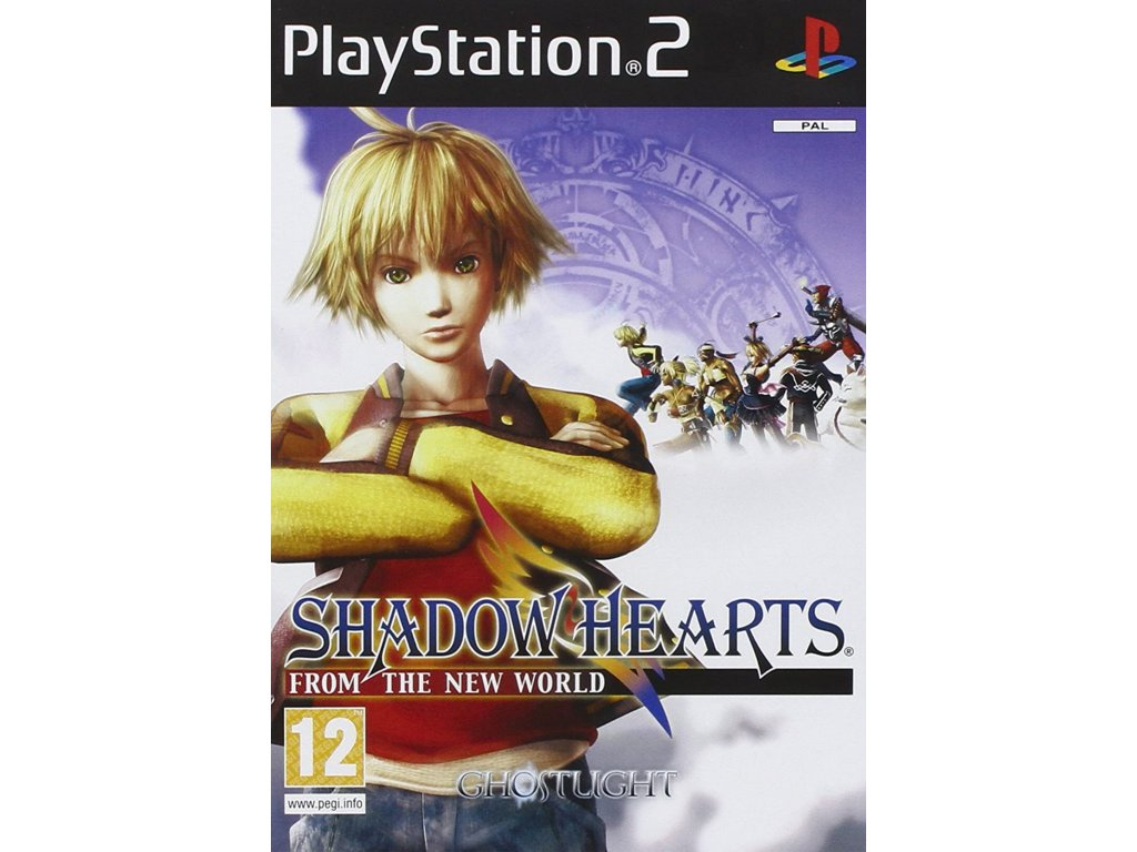 PS2 Shadow Hearts From the New World