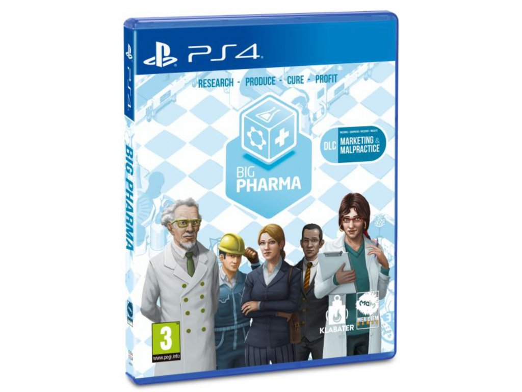 Big Pharma Special Edition PS4