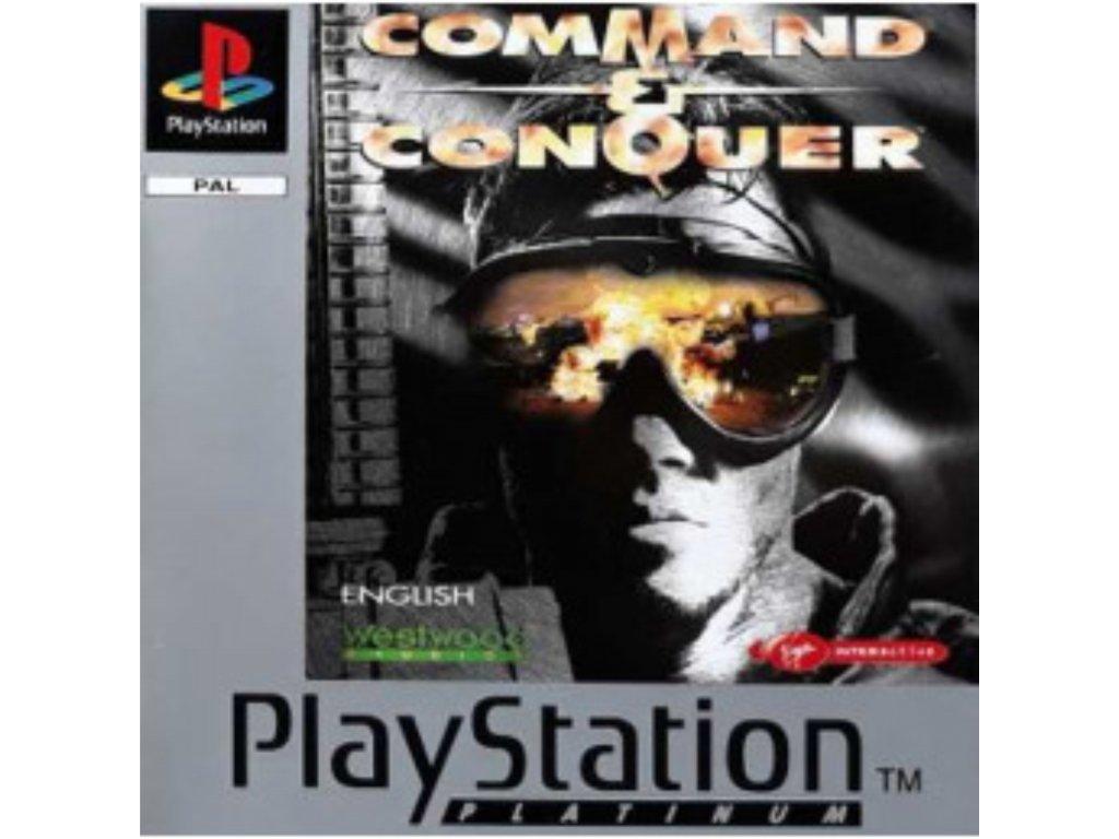PS1 Command & Conquer PLATINUM
