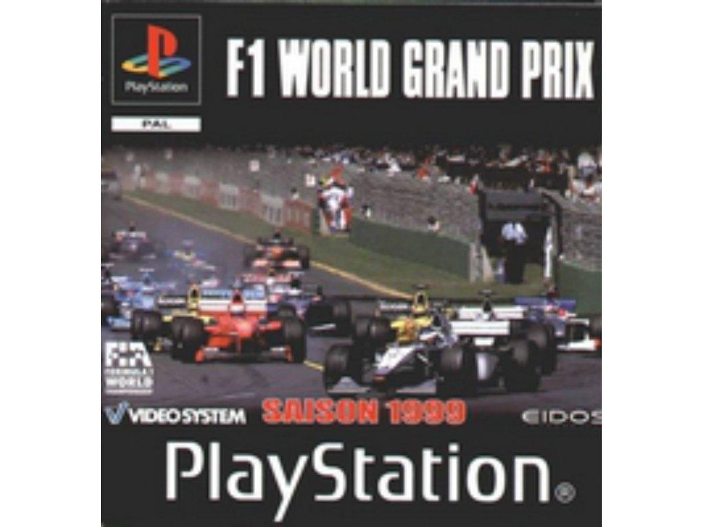 PS1 f1 world grand prix